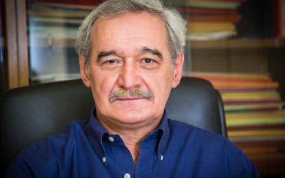 Ο ευρωβουλευτής της Λαϊκής Ενότητας (ΛΑΕ) Νίκος Χουντής στη Κρήτη