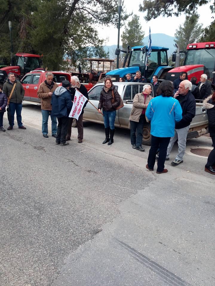 Η Λαϊκή Ενότητα μαζί με τους αγρότες της Πρέβεζας