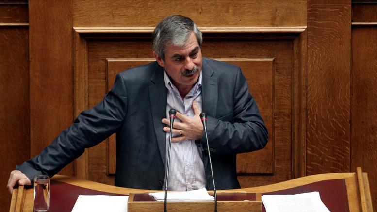 Θανάσης Πετράκος : Η Ν.Δ με την πρόταση μομφής « κάνει πλάτες»στη κυβέρνηση καιστο ΝΑΤΟ