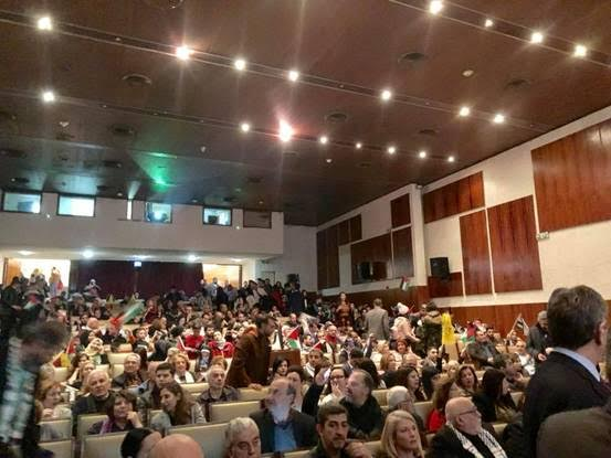 Με μεγάλη επιτυχία και παρουσία της ΛΑΕ η εκδήλωση της παλαιστινιακής παροικίας της Ελλάδας στο πολεμικό Μουσείο.