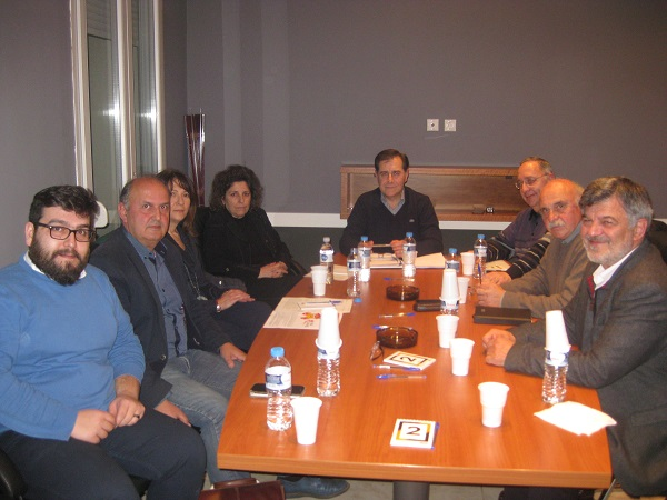 Συνάντηση ΛΑΕ με τον Σύλλογο Συμβολαιογράφων Εφετείου Θράκης