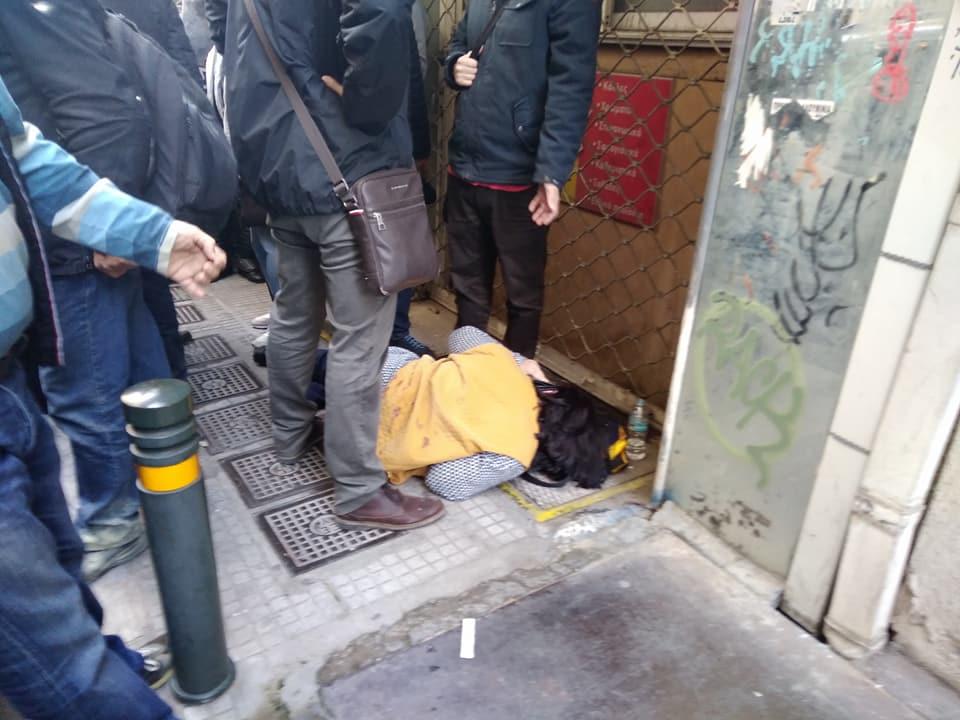 Απρόκλητη βία, χημικά και αστυνομική καταστολή και σήμερα ενάντια στους διαδηλωτές της ΛΑΕ και του κινήματος κατά των πλειστηριασμών