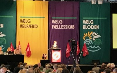 Η Λαϊκή Ενότητα στο συνέδριο τηςRed-GreenAllianceτης Δανίας