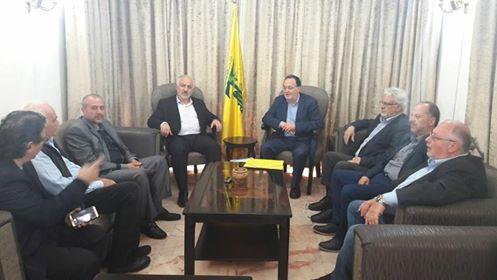 Βηρυτός: Συναντήσεις Λαφαζάνη, Ήσυχου, Φλαμιάτου με ΚΚΛιβάνου, Χεζμπολάχ και πρέσβη Συρίας