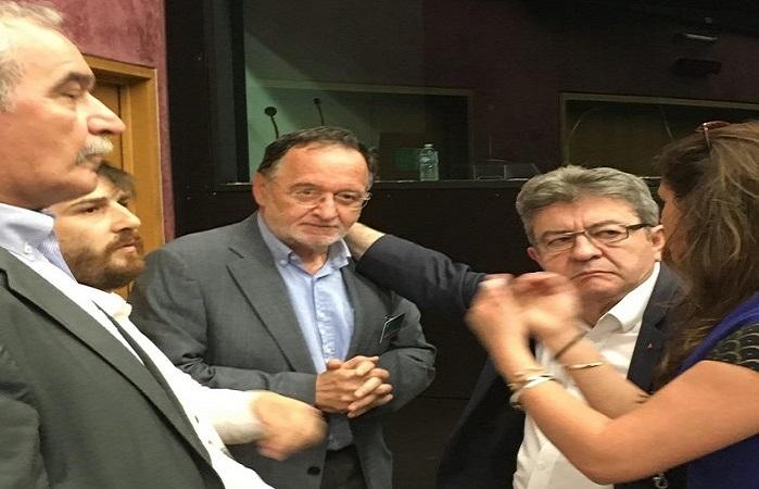 Συνάντηση Παν. Λαφαζάνη – Ζ.Λ. Μελανσόν στο Στρασβούργο