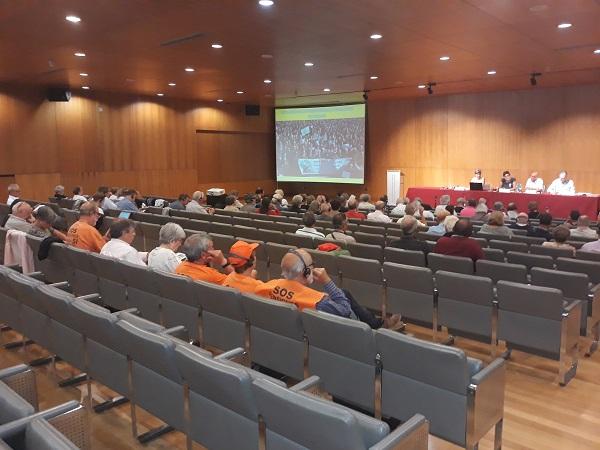 Δ. Στρατούλης στη Γαλικία. Τα τρία μνημόνια κατεδάφισαν τις συντάξεις στην Ελλάδα