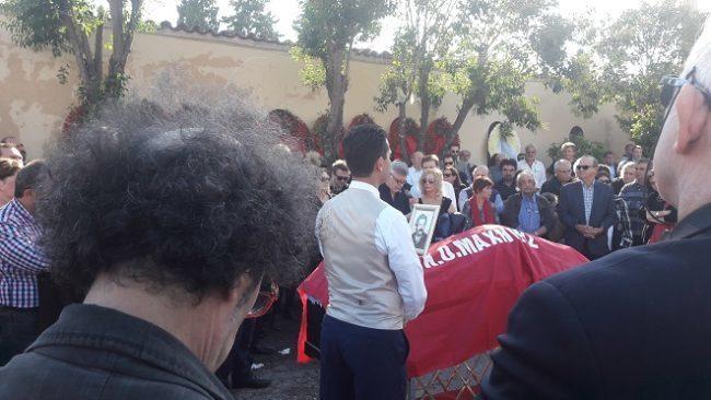 Όλες οι γενιές της Αριστεράς στην κηδεία του Αγωνιστή Τάσου Κατιντσάρου