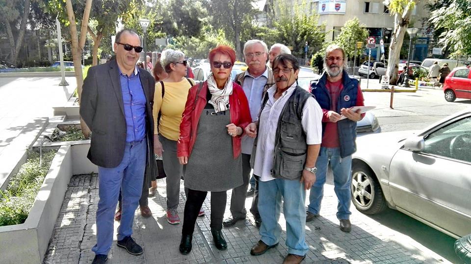 Πολύ πετυχημένη περιοδεία ΛΑΕ με Στρατούλη και Σπανού στη Ν. Σμύρνη