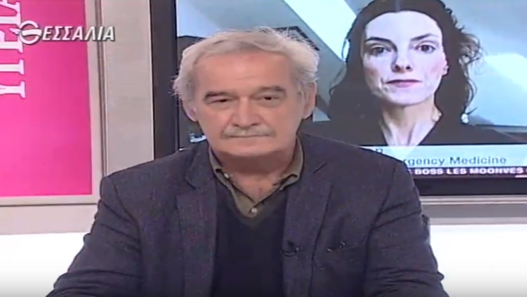 Ο ευρωβουλευτής της ΛΑΕ Νίκος Χουντής στο Θεσσαλία TV
