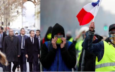 Διαλέξτε το χρώμα του γιλέκου σας και ελάτε την Τετάρτη (5/12, 3 μ.μ.) στην εκδήλωση αλληλεγγύης στα «κίτρινα γιλέκα», ενάντια στον αυταρχισμό της κυβέρνησης Macron – Όλοι/-ες (2 μ.μ.) στο συμβολαιογραφείο Αιόλου 100 για να αποτρέψουμε τον πλειστηριασμό μικρής πρώτης κατοικίας στο Περιστέρι