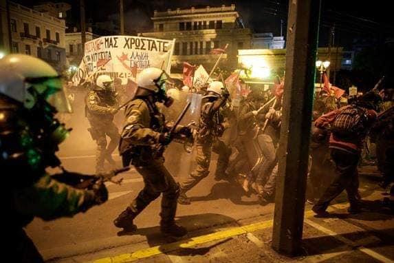 Κυβέρνηση Τσίπρα: Αυταρχισμός και καταστολή χωρίς όρια