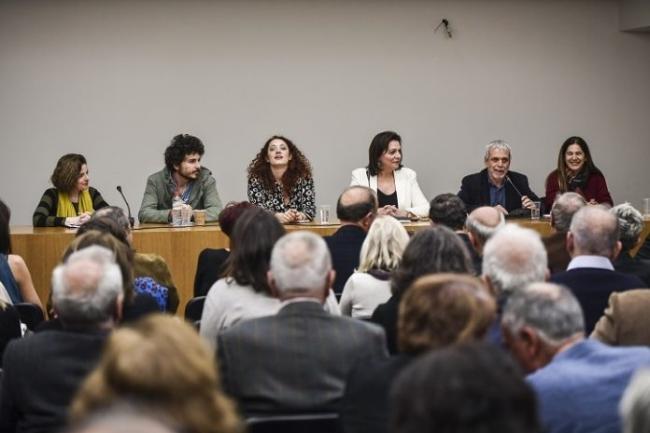 Παρουσίαση της υποψήφιας Δημάρχου Αθηναίων Αυγής Μπέσκα Θεοδόση της παράταξης «Μέτωπο Ανατροπής για την Αθήνα»