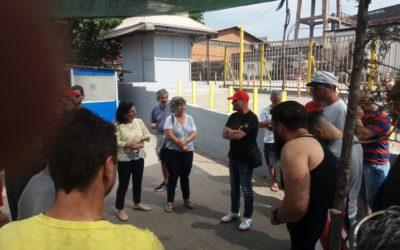 Η Λαϊκή Ενότητα Θεσσαλονίκης στο πλευρό των απεργών εργαζομένων στη ΣΙΔΕΝΟΡ