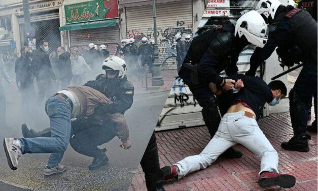 Η Λ.Α.Ε. καταγγέλλει τον κυβερνητικό αυταρχισμό και το όργιο αστυνομικής βίας