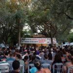 Μεγάλη πολιτική συγκέντρωση, πραγματοποιήθηκε στο καλοκαιρινό κάμπινγκ της ΑΡΑΣ