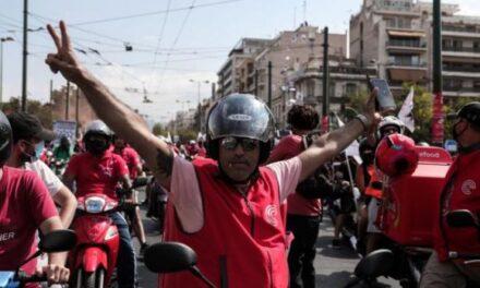Η Λαϊκή Ενότητα χαιρετίζει τη νίκη των διανομέων, που είναι νίκη όλων των εργαζομένων.